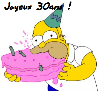Bon Anniversaire Homer