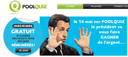 Quiz Sarkozy Poolquiz