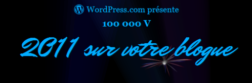 Rapport WordPress pour 2011