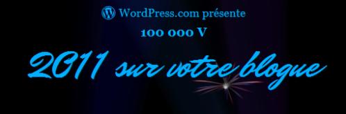 Rapport WordPress pour 2011