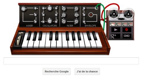 Synthétiseur de Robert Moog