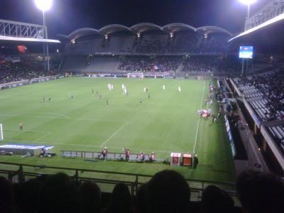 Coup d'envoi Lyon Prague Europa League Gerland