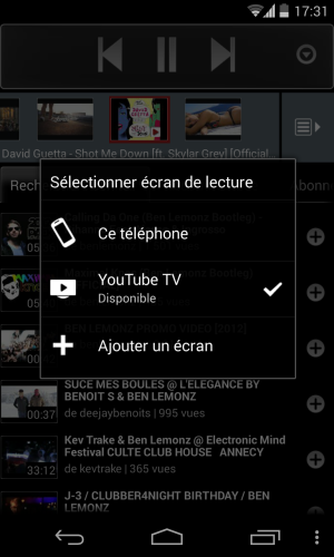 Youtube Remote