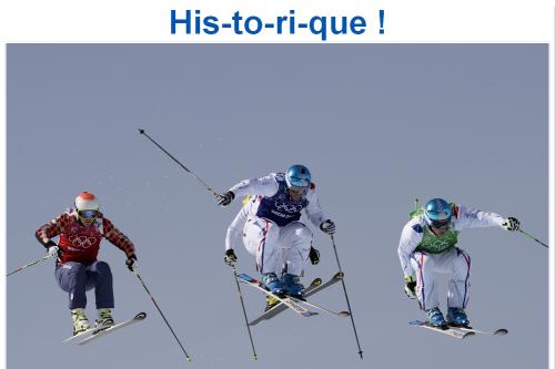 Triplé historique au Skicross Sochi 2014