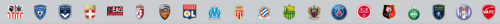Clubs de Ligue 1 2013/2014