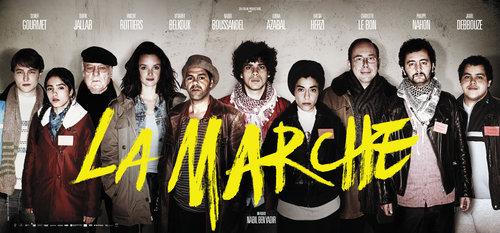 Visuel film la Marche des beurs Marcheurs Minguette