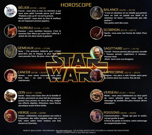 Horoscope Star Wars 7 Force Awakens