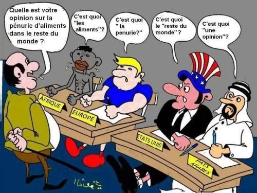 Opinion sur la faim dans le monde