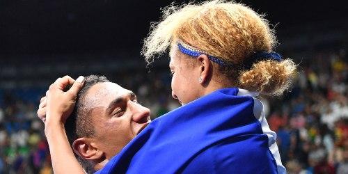 Estelle Mossely Tony Yuka couple en or jeux olympiques rio 2016 boxe française